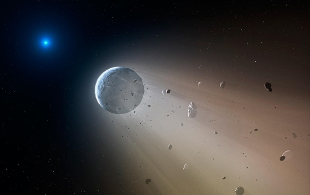 Фото: Harvard-Smithsonian Center for Astrophysics. Білий карлик пожирає планету