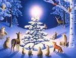 Господь наш Ісус Христос  В Вифлеємі народився,  Всемогутній Бог з небес  У людині воплотився.