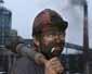 Акции протеста коллектива шахты им. Баракова в Луганской области