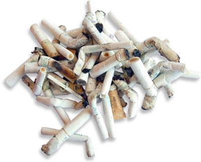 В Китае сигаретные окурки будут использовать для защиты от ржавчины