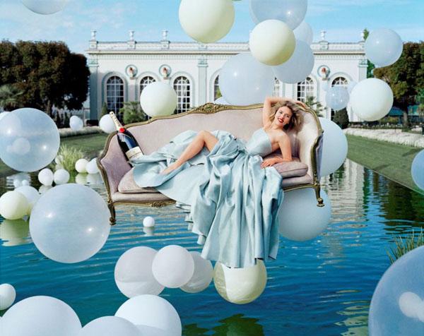 Скарлетт Йохансон Scarlett Johansson в рекламе Moлt & Chandon