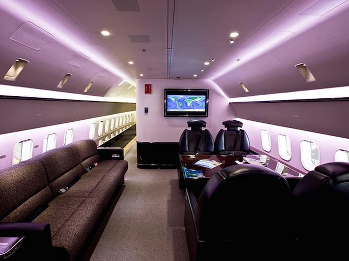 Новый Боинг-787 для миллионеров. Фото нового Боинг-787