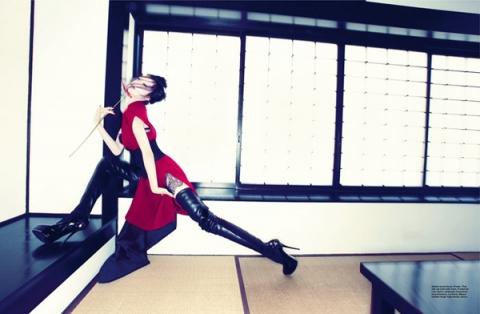 Wang Xiao для Harper's Bazaar Singapore