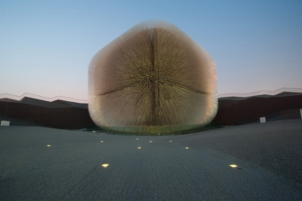 Британский павильон U.K. Pavilion на Shanghai World Expo