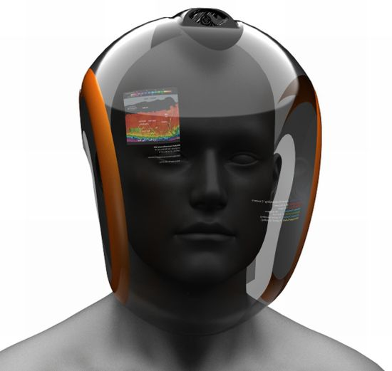 Immersed Senses - шлем для подводного плавания