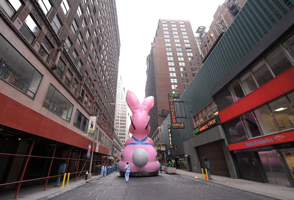 Парад в честь Дня Благодарения в Нью-Йорке. Thanksgiving Day Parade.