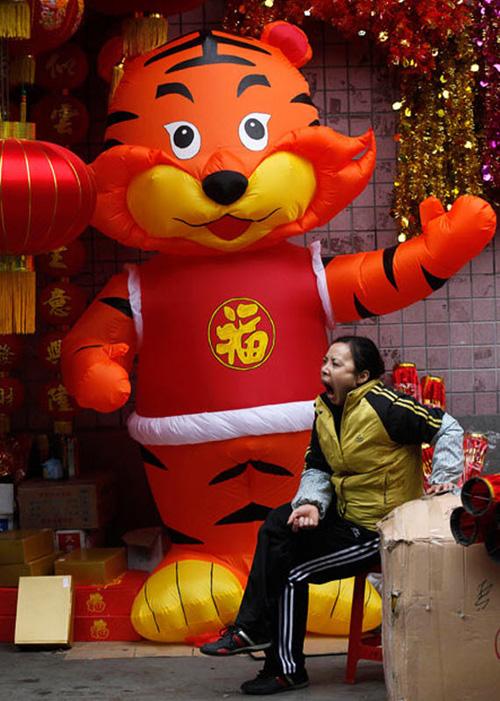Подготовка к празднованию китайского Нового года