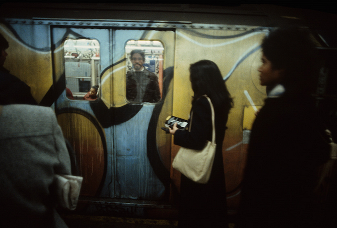 Метро Нью-Йорка 80-х годов.