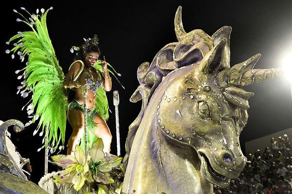 Фотографии с Бразильского Карнавала в Рио 2010 года.