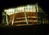 Ночной вид Opera House в Осло. Фото